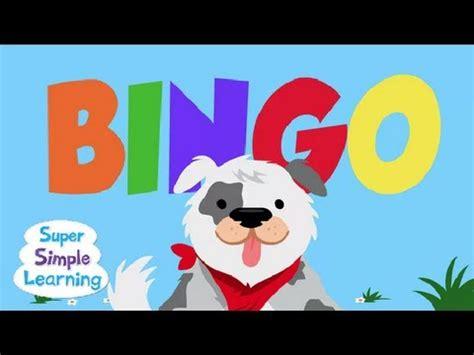 Bingo  Super Simple Songs Youtube