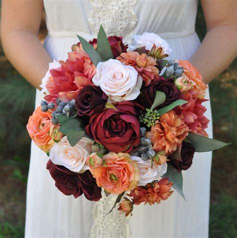 Fall Bridal Bouquet Fall Wedding Flowers Bridal Bouquet