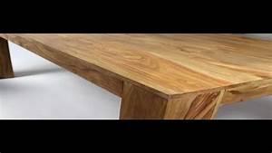 Massivholztisch Selber Bauen : starker tisch massives holz youtube ~ Watch28wear.com Haus und Dekorationen