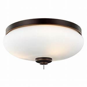 Monte carlo light outdoor led ceiling fan kit
