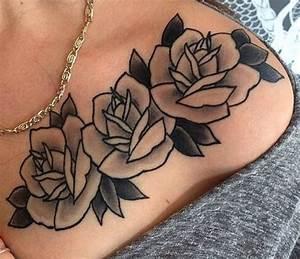 4+ Amazing Black Rose Tattoos