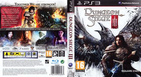 dungeon siege 3 doom playstation 3 covers dantes inferno souls