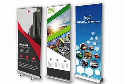 Banner Stands Roll Displays Banners Retractable Printing