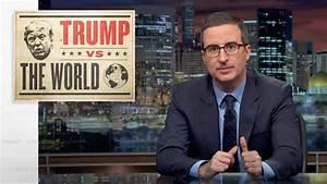 John Oliver Exposes Trump's 'National Emergency' Border ...