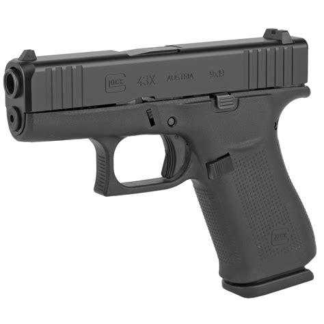 glock  mm black slimline pistol px dk firearms