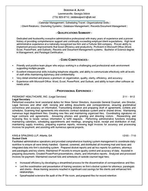 pleasant office administration resume summary in business
