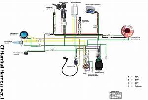 Diagram Besides Lifan 125 Pit Bike Wiring Diagram Together