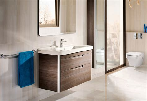 Dama Wash Basin With Vanity Unit By Roca