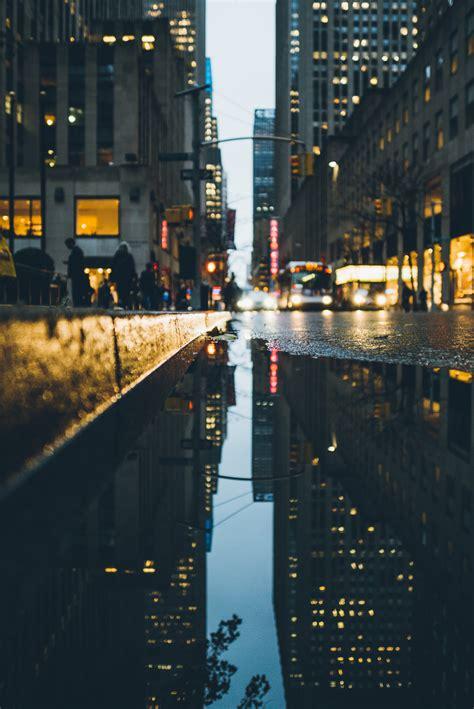 Rainy Daze In New York City Midtown, Manhattan