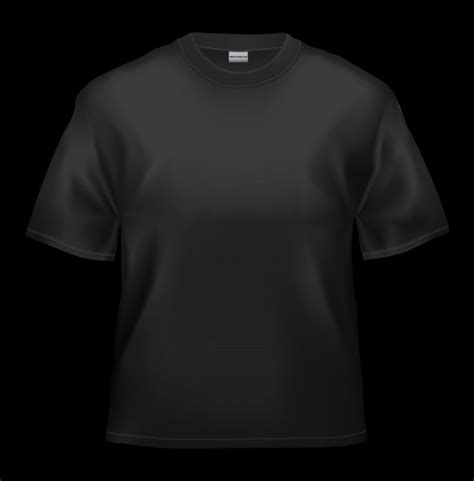 black t shirt template blank black t shirt