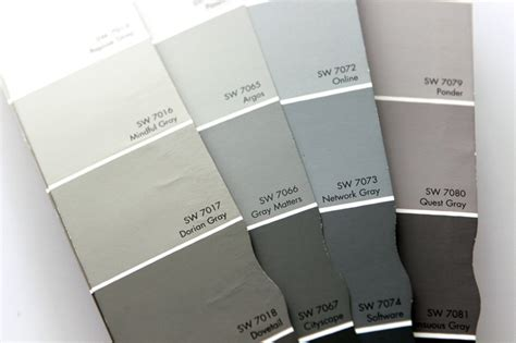 behr paint color swatches choosing gray paint colors gray house studio