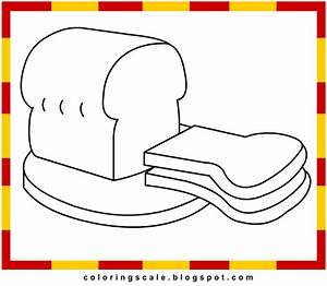 Bread Basket Coloring Page
