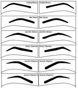 free eyebrow stencils bountiful beauty makeup pinterest With printable eyebrow stencil template