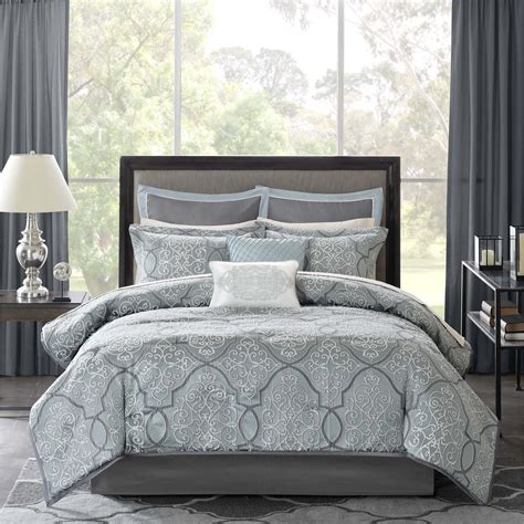 madison park anouk jacquard 12 piece complete bed set by