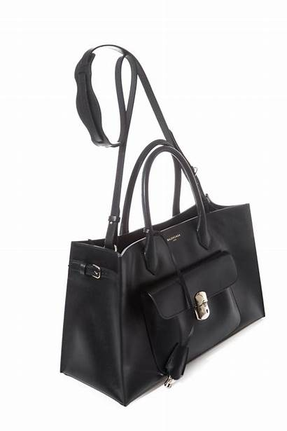 Padlock Balenciaga Tote Leather Lyst