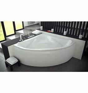 Baignoire Avec Tablier : baignoire ewa 134x134 cm baignoire salle de bain design ~ Premium-room.com Idées de Décoration