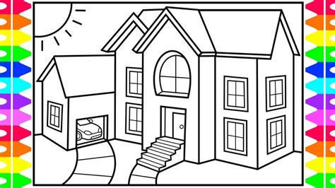 draw  house  kids house drawing  kids
