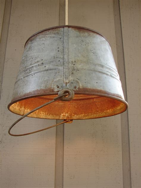 Decorating: Chic Galvanized Buckets For Bucket Ideas