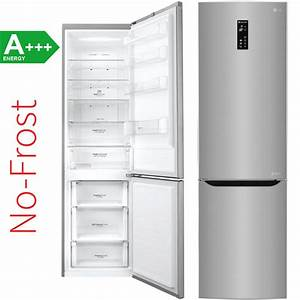 Lg gbb60pzmfs a no frost stand kuhl gefrierkombination for No frost kühlschrank
