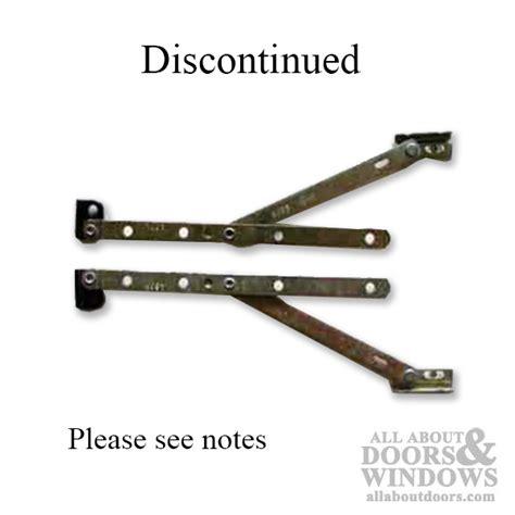bilt casement window hinge metal clip black shoe