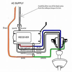 Hunter Fan Wiring Diagram With Remote 23413