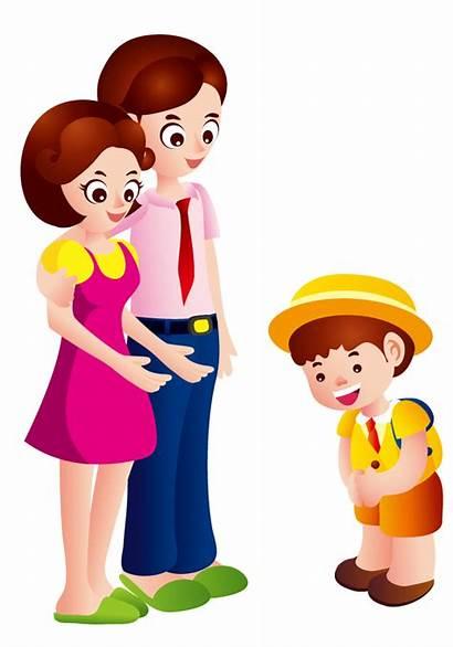 Clipart Parents Parent Child Chinese Transparent Clip