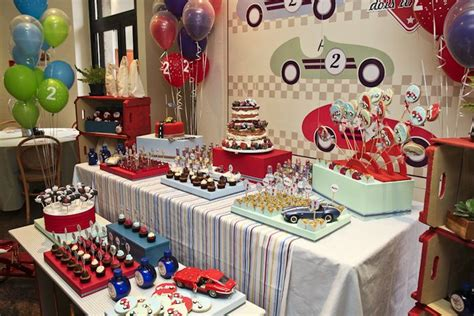 Vintage Race Car Themed Birthday Party {planning, Ideas