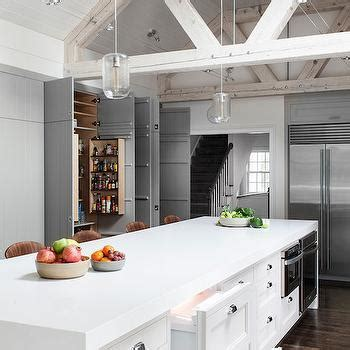 Truss Ceiling Beams   Contemporary   kitchen   LDa Architects