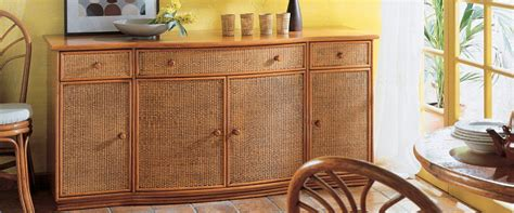 bureau rotin meubles de véranda