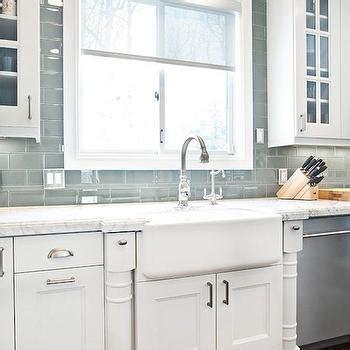 gray glass subway tile kitchen backsplash gray glass subway tile backsplash design ideas 8345