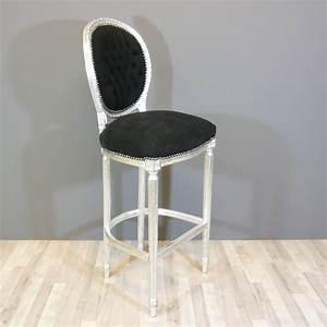 Chaise Style Baroque : chaise baroque haute de bar de style louis xvi meuble baroque ~ Teatrodelosmanantiales.com Idées de Décoration