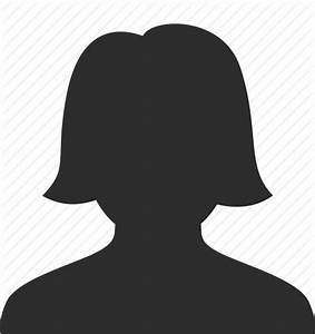 PNG Silhouette Woman Head Transparent Silhouette Woman ...