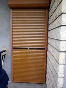 Volet Roulant Porte Fenetre : volet bois porte fenetre bricoman wroc awski informator ~ Dailycaller-alerts.com Idées de Décoration