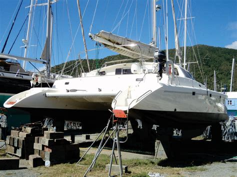 Coque Catamaran A Vendre by 1998 Voyage Yachts Norseman 430 Sailboat For Sale In