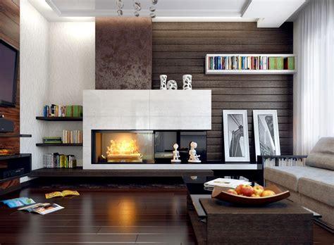 Modernes Wohnzimmer Mit Kamin by Modern Fireplace Mantel Ideas Living Room Modern