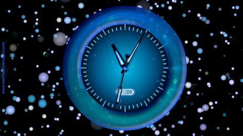 Animated Wall Clock Wallpaper - animated clock walldevil