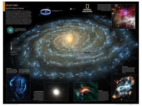 Gallery For Milky Way Galaxy Map National Geographic