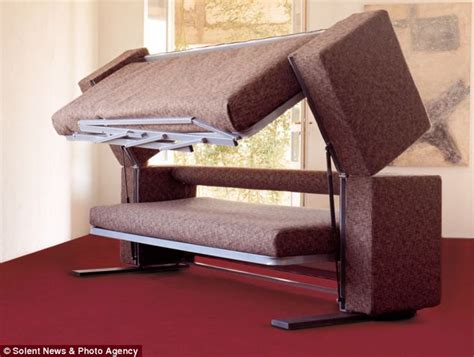 Bunk Beds With Settee by 163 3 000 Sofa That Transforms Into A Bunk Bed Daily Mail