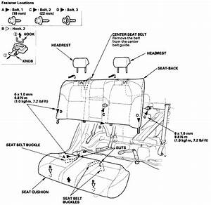 Wiring Diagrams And Free Manual Ebooks  2004 Acura Tl Rear Seat Removal And Installation Guide