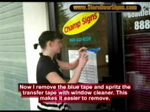 diy install a quotstore hoursquot vinyl lettering decal on your With starting a vinyl lettering business