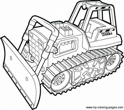 Construction Coloring Site Pages Worker Colouring Printable