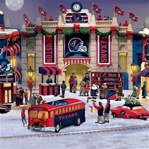 Houston Texans Christmas Village Collection Texans NFL