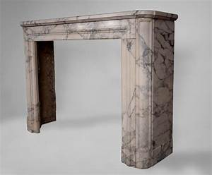 Deco Cheminée Ancienne : chemin e ancienne art d co en marbre arabescato marbre ~ Melissatoandfro.com Idées de Décoration