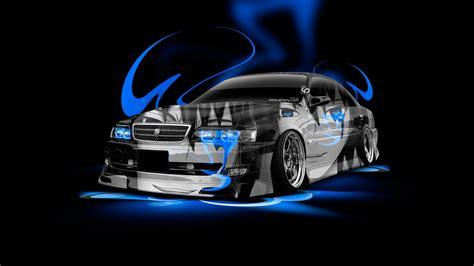 Anime Car Wallpaper - toyota chaser jzx100 anime aerography car 2014 el tony