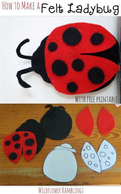 felt ladybug  babies ladybug felt