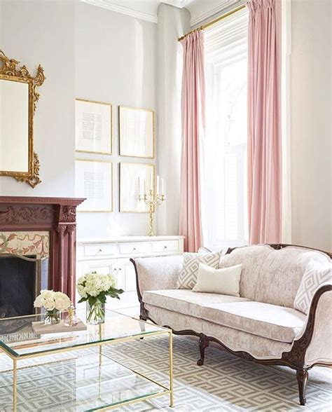 Relaxing Pastel Hued Interior by The Antique Inspired Details In This Pastel