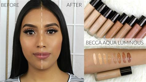 foundation stick new becca aqua luminous foundation review demo