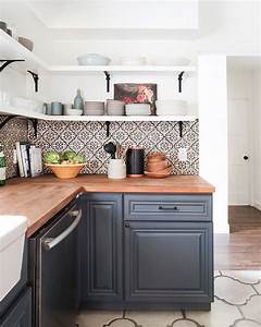 Cuisine Carreau De Ciment : la cuisine avec carreaux de ciment plus de 80 exemples ~ Melissatoandfro.com Idées de Décoration