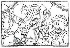 HD wallpapers coloring page of jesus turning water into wine ...