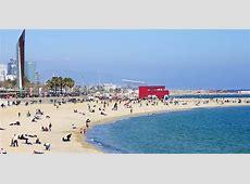 La plage de Bogatell